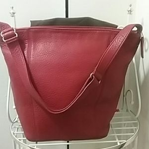 Authentic Coach Vintage Sonoma XL Bucket Bag